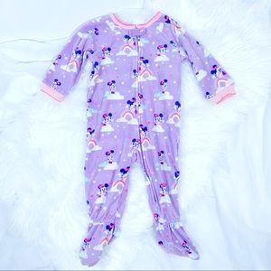 Disney Fleece Footie Pajamas ~ 12 - 18 months